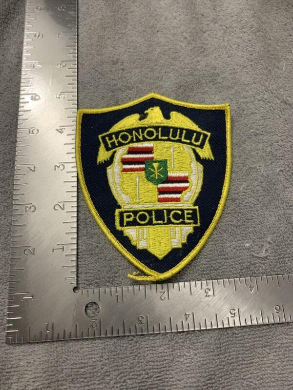 HONOLULU HAWAII POLICE SHOULDER PATCH