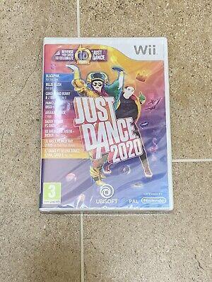 Just Dance 2020 Nintendo Wii ** New **