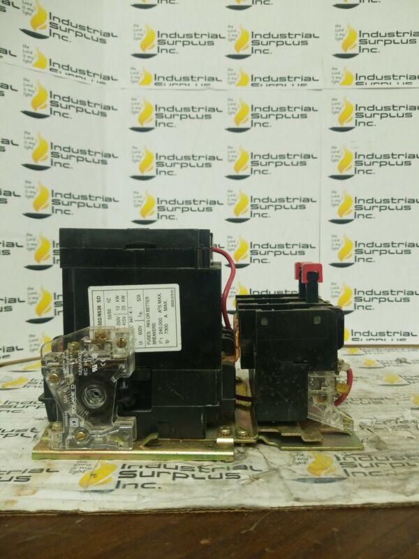 Square D Magnetic Motor Starter 8536SDO1S *FREE SHIPPING*