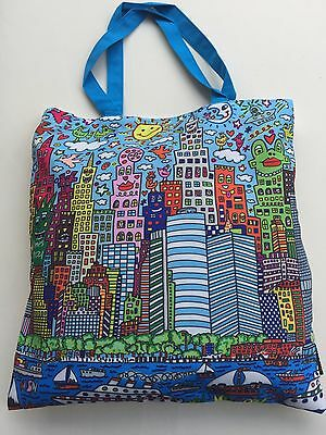 New York City Bag (James RIZZI: Tasche, Einkaufstasche, Art Shopping Bag