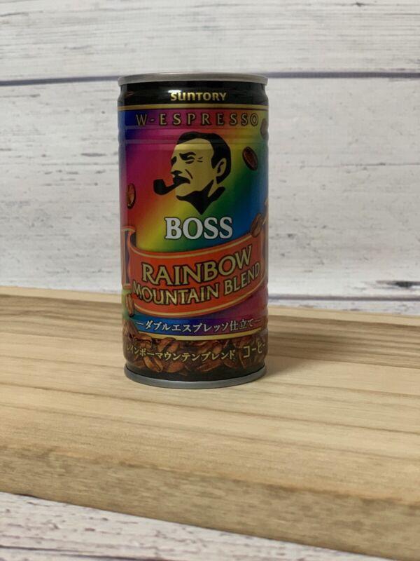 Suntory Japan Coffe Boss Rainbow Mountain Blend 17 Cans