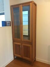 3 x solid timber china/display cabinets PRICE REDUCED, MUST BE SOLD Neutral Bay North Sydney Area Preview