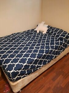 Pending FREE double bed and Sealy mattress