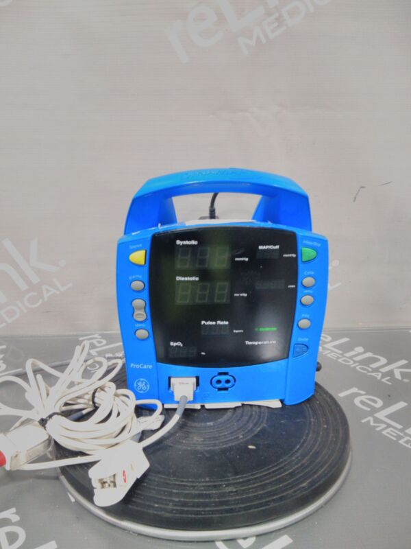 GE Healthcare Dinamap ProCare 200 Patient Monitor