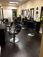 Looking for stylists to rent chairs (Keele & Wilson)