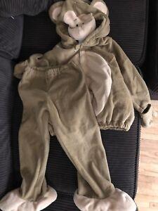 Monkey costume size 4T-5T