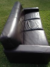 Couches 2 and 3 seater pleather - free Greystanes Parramatta Area Preview