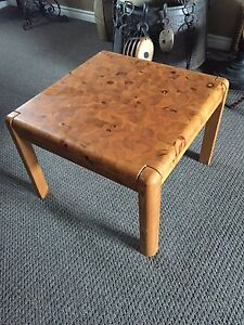 Butcher block type coffee and dining table