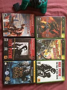 Old games for different consoles