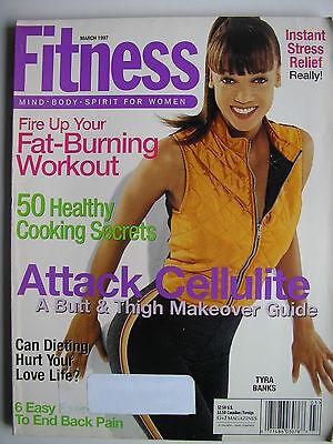 Tyra Banks  March 1997 Fitness Magazine