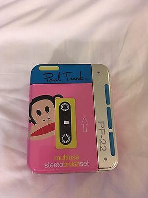 Paul Frank Multi-use Cosmetic Brush Set 5 Brushes BN Sealed