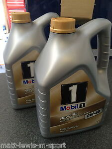 Mobil 1 0W-40 New Life Fully Synthetic Engine Oil 10L Package Deal