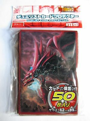 50x Slifer The Sky Dragon Yugioh Size Card Sleeves Deck Protector