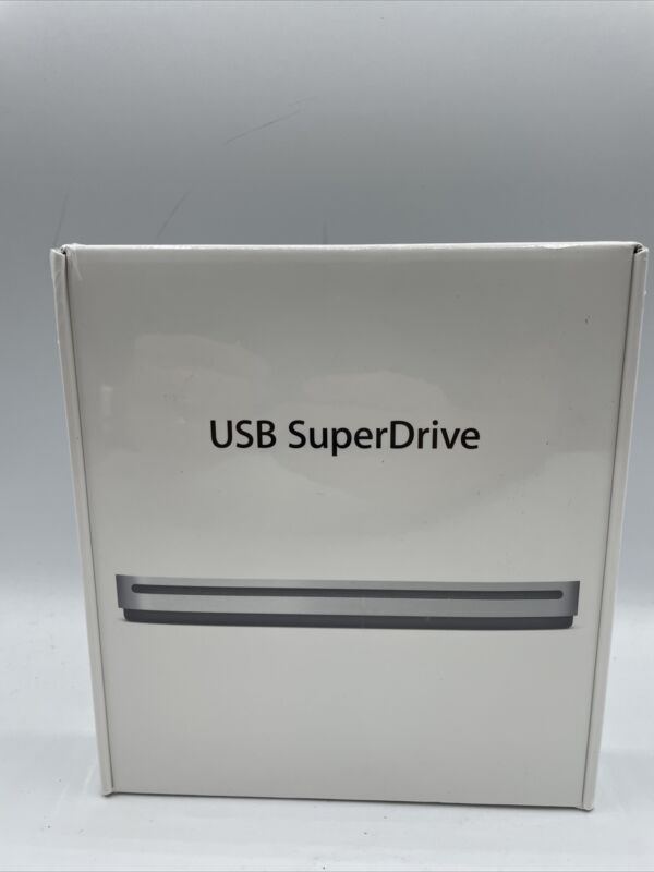 NEW SEALED Apple SuperDrive MD564ZM/A A1379 8x External USB FREE SHIP