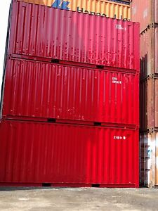 20' Painted Storage/Sea Containers for sale