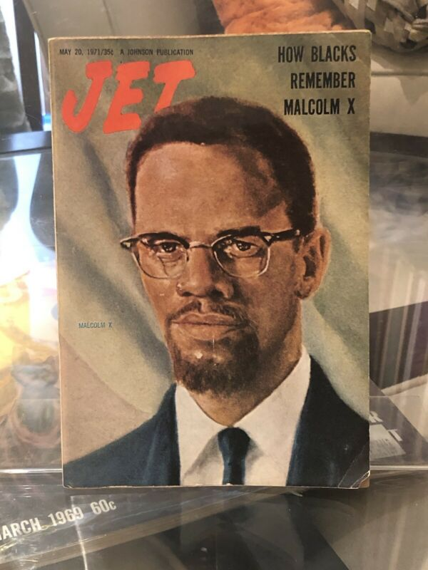 JET MAGAZINE | MAY 20, 1971 | HOW BLACKS REMEMBER MALCOLM X