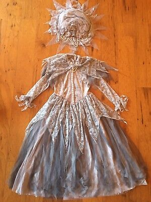 Hallow's Eve Princess Bride Victoria Queen Zombie Skulls Costume 6X Halloween