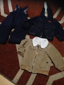 Little boys winter clothes