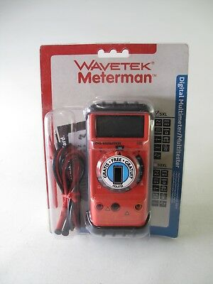 Wavetek Meterman 5xl Digital Multimetermultitester With Free Holster New