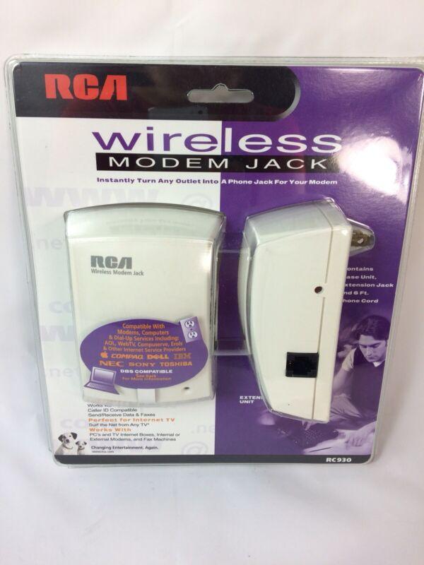 NWT RCA RC930 Wireless Modem Jack White Sealed
