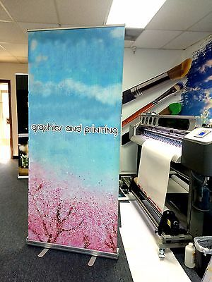 Retractable Pull Up Banner Stands 33x80 - Printing Included