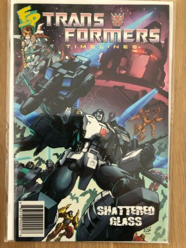 Transformers Timelines #3 NM Shattered Glass Previews Exclusive 2008 Fun HTF