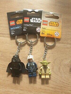 Lego Star Wars Keyrings X 3