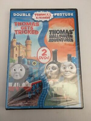 Thomas  Friends: Thomas Gets Tricked/Halloween Adventures (DVD, 2015, 2-Disc...
