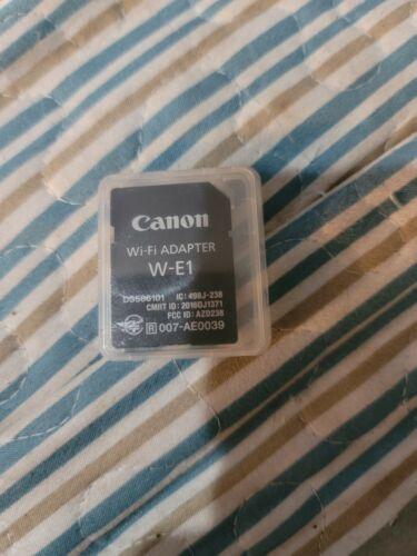 Canon Wi-Fi Adapter W-E1 Pre Owned