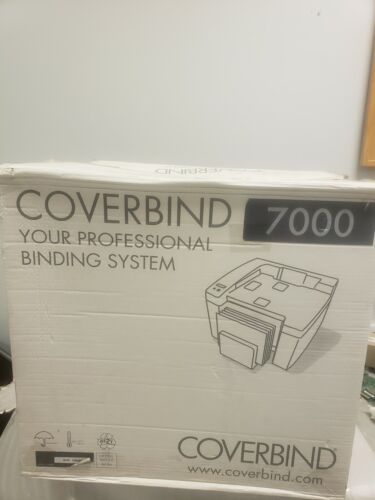 Coverbind 7000 Binding Machaine Coverbind 7000 Document Finishing  System