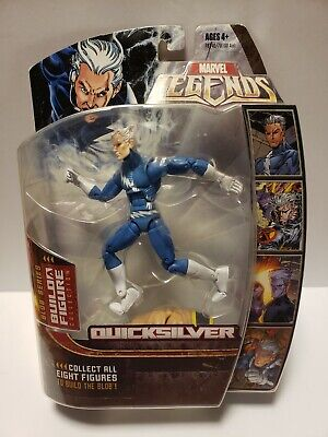 Marvel Legends Quicksilver Blue Variant BAF Blob nice condition!