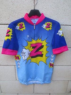 Maillot cycliste Z PEUGEOT Tour de FRANCE 1987 Duclos-Lassalle vintage shirt M