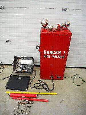 The Von Cg-1.5 Hipot 170kv Insulation Test Megger Biddle Complete Test Set