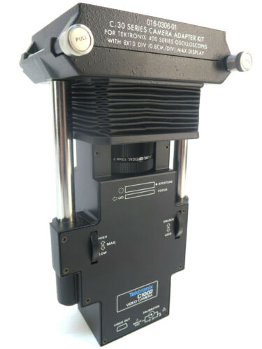 Tektronix C1002 Video Camera /w Tektronix Mounting Adapter (016-0306-01)