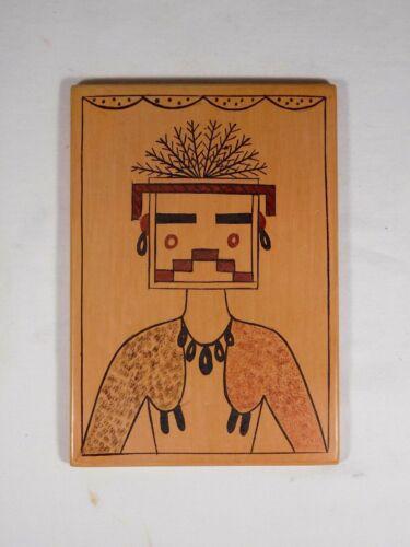 "GORGEOUS HOPI INDIAN POTTERY ""KACHINA TILE"" BY AWARD WINNING DEBBIE CLASHIN"