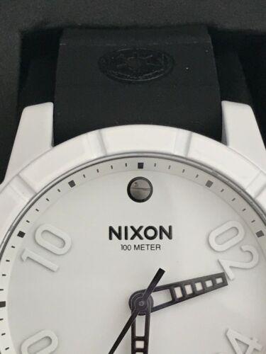 Nixon the Ranger 40 Star Wars Stormtrooper Black & White PU