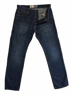Quicksilver Relaxed Mens Preowned Jeans Size 31x34