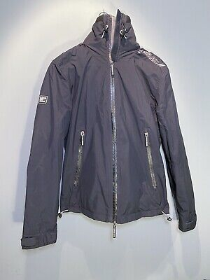 Mens Superdry Arctic Hooded Cliff Hiker Jacket Black - S Small