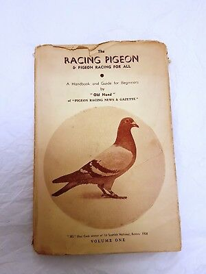 Book Racing Pigeon and Pigeon Racing for all Vol 1  1960's RARE Old Hand