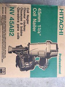 Hitachi coil nailer