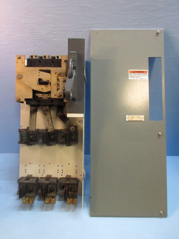 Allen Bradley 2100 600 Amp Main Fusible Feeder MCC Bucket 600A Switch LC3600NW