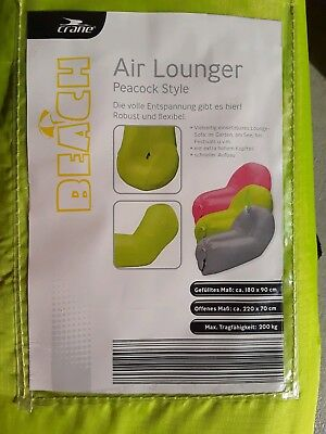 1 Luftsofa, Luftcouch, Airlounger NEU OVP neues Mod .Versand 2 Tage