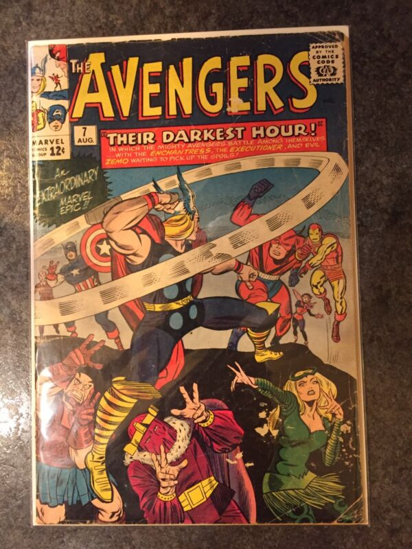 Silver Age Avengers 7
