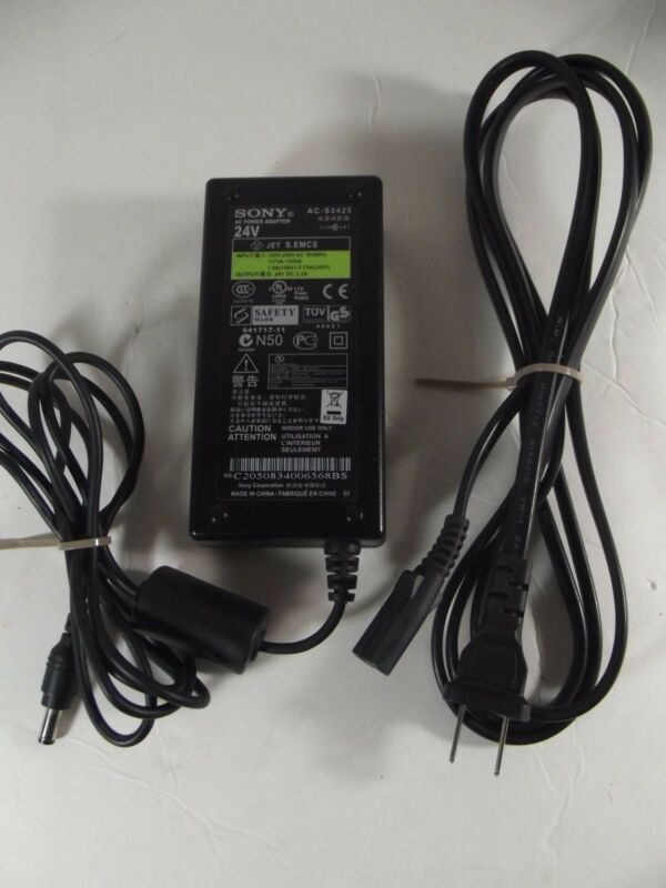 """SONY"" Power AC Adapter Model: AC-S2425 Photo Printer"