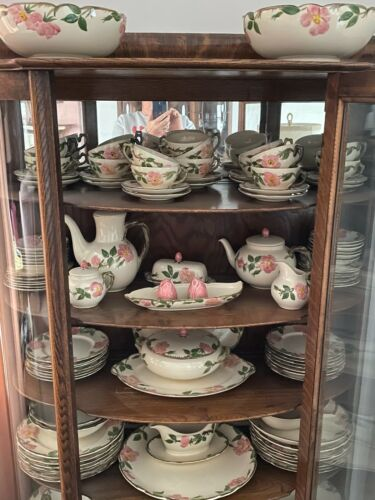 Franciscan Desert Rose china over 120  pieces excellent condition!!!!
