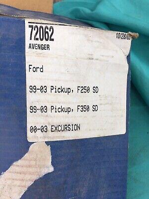 Lund Avenger Wrap Bug Shield Ford F250 Super Duty Excursion F350 1999 2000 2001 Duty Smoke Wrap Bug Shield