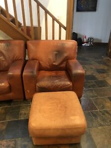Free Leather Lounge Suite