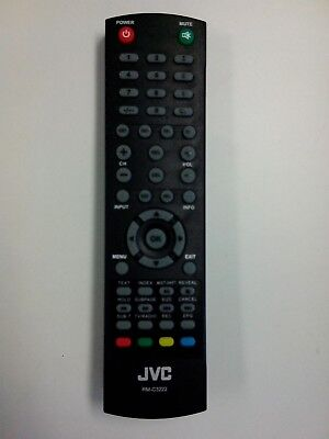 GENUINE JVC TV REMOTE CONTROL RM-C3222