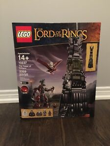 LEGO lord of rings - tower of Orthanc 10237