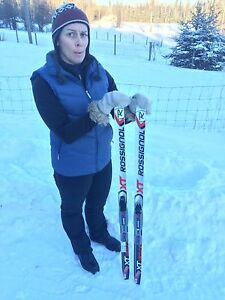 Rossignol cross country skis for kids 130